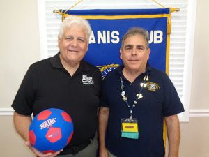 Pines Kiwanis Introduced to TOPSoccer Program