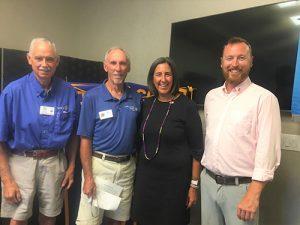 Rotary Club Install New Member