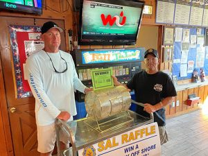 Sons Of The American Legion Hold Drawing For Fishing Trip, Gift Card