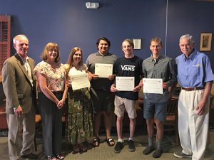 Rotary Award Scholarships To 4 Worcester County Students