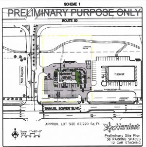 Early Planning Underway For Hardee's Off Route 50