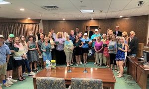Ocean City Presents Annual Beauty Spot Award Winners