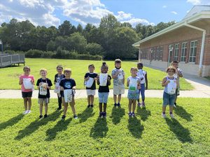 OCES Students Celebrate First Week Of School