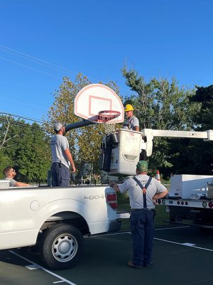 Volunteers Needed For Henry Park Basketball Court Painting Project