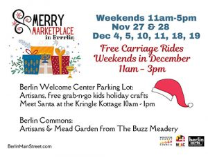 Berlin Expanding Holiday Events With Merry Marketplace