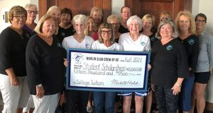 Marlin Club Crew Donate $15,000 In Scholarships For Local Grads