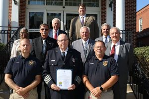 Commissioners Proclaim Oct. 3-9 As Worcester County Fire Prevention Week; October As Fire Prevention Month