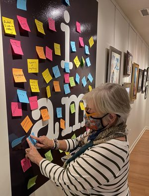 Public Invited To Add Message To 'I Am' Wall