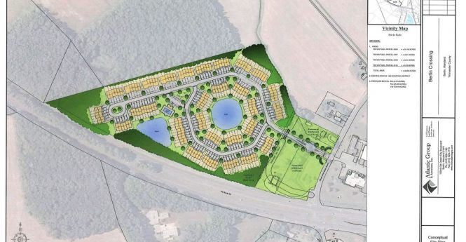 176-Unit Townhouse Community Proposed For Berlin Off Route 50